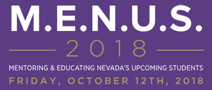 M.E.N.U.S. 2018 – FRIDAY, OCTOBER 12TH, 2018