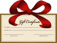 BSOP Gift Certificate