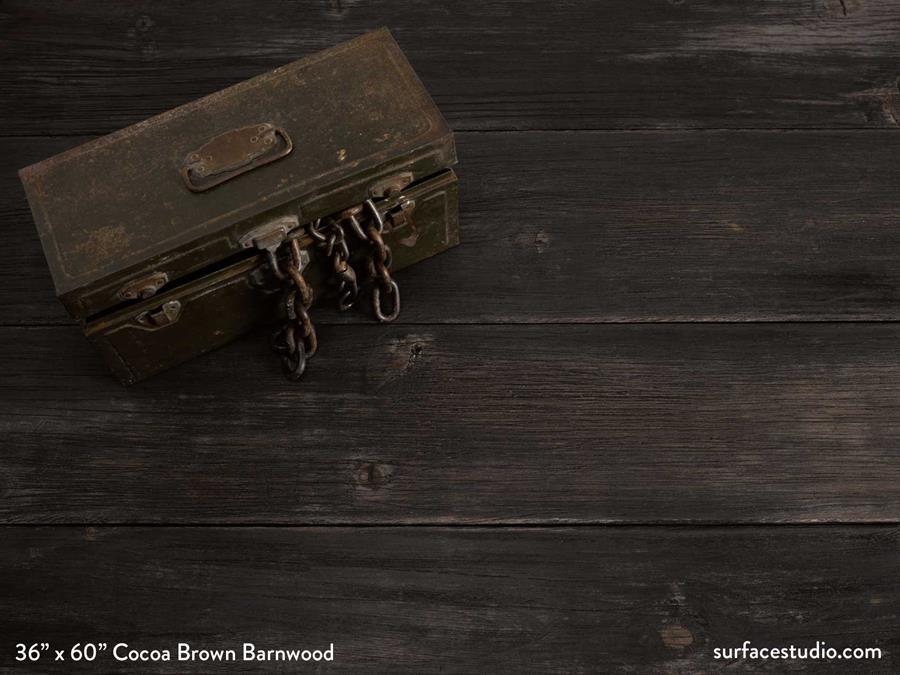 Cocoa Brown Barnwood