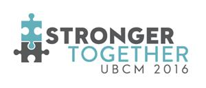 2016 UBCM Convention logo