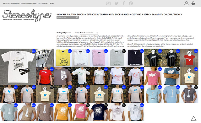 Stereohype T-shirts