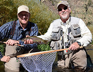 Trout fishers