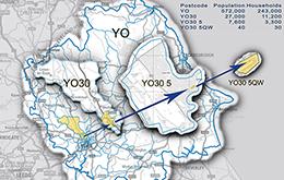Example postcode map