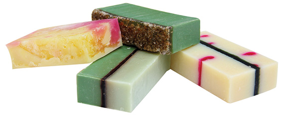 Soaptopia holiday bars