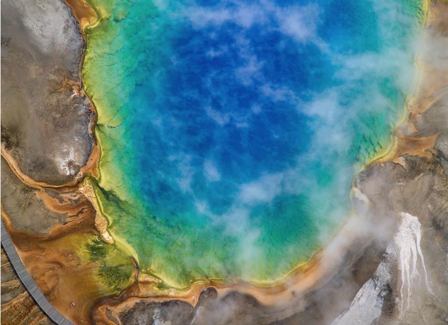 Yellowstone aerial