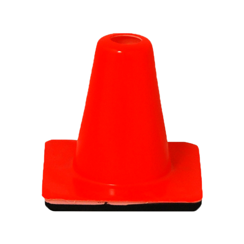 heavy duty orange cone