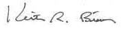 Keith Bisson's Signature