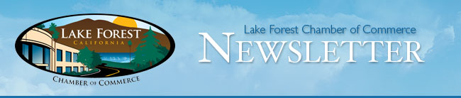 Lake Forest Chamber of Commerce Newsletter