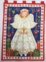 Angel Advent Calendar from The Stitch Witch