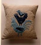 Cockerel Cushion