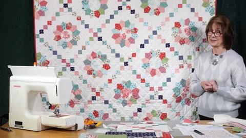 Katie Jane quilt with Valerie Nesbitt