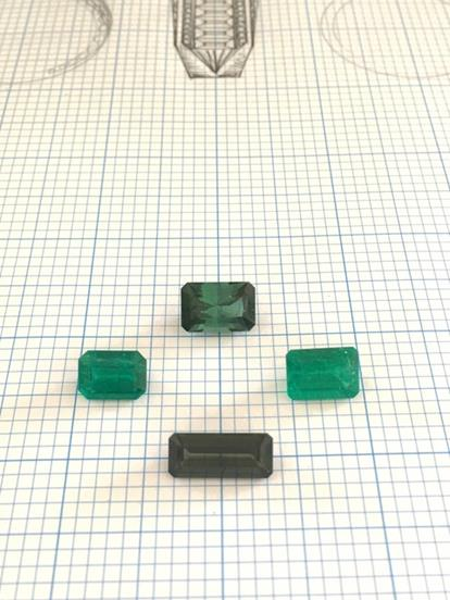 Bespoke Emerald and Diamond Ring