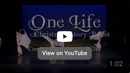 """Angels from """"One Life: A Christmas Story Ballet"""" coming December 18th to YouTube."""