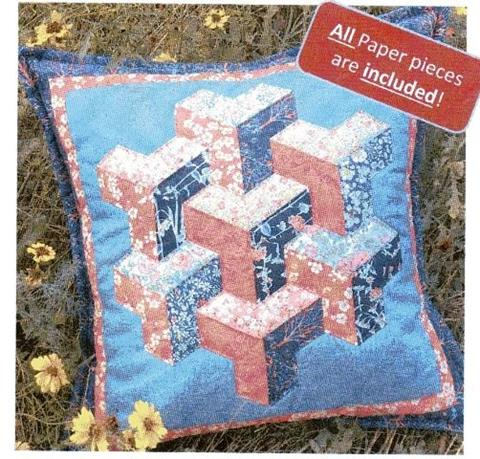 City Lights Cushion pattern from Lina Patchwork
