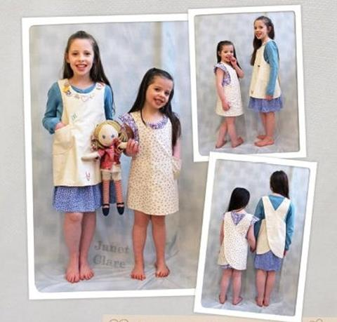 Little Artisan Apron by Janet Clare