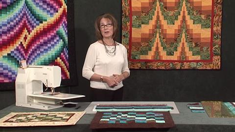 Bargello Tablemat with Valerie Nesbitt
