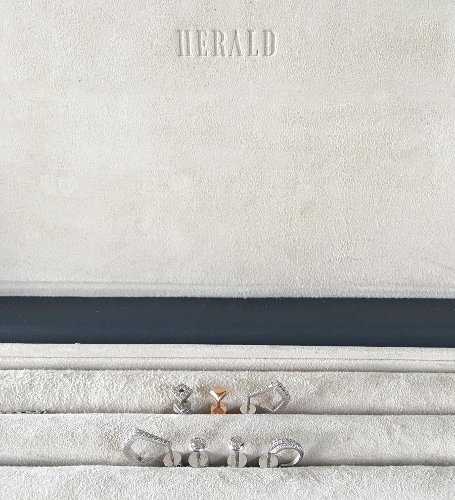 Diamond Earring Capsule by Alice Herald