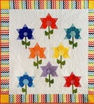 Sew Simple Hexi Flowers by Karin Hellaby