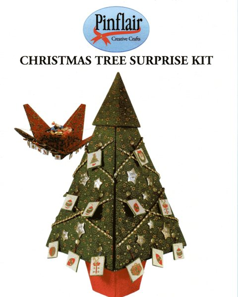 Christmas Tree Surprise Kit by Pinflair