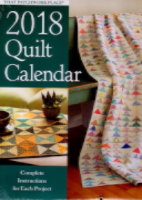 2018 Quilt Calendar by The Patchwork Place