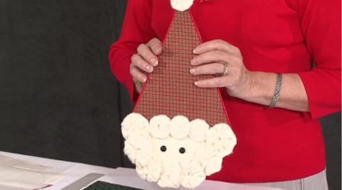 Yo-Yo Santa Christmas Decoration with Valerie Nesbitt