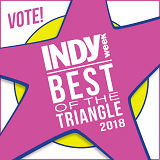 Best of the Triangle: Vote for us!