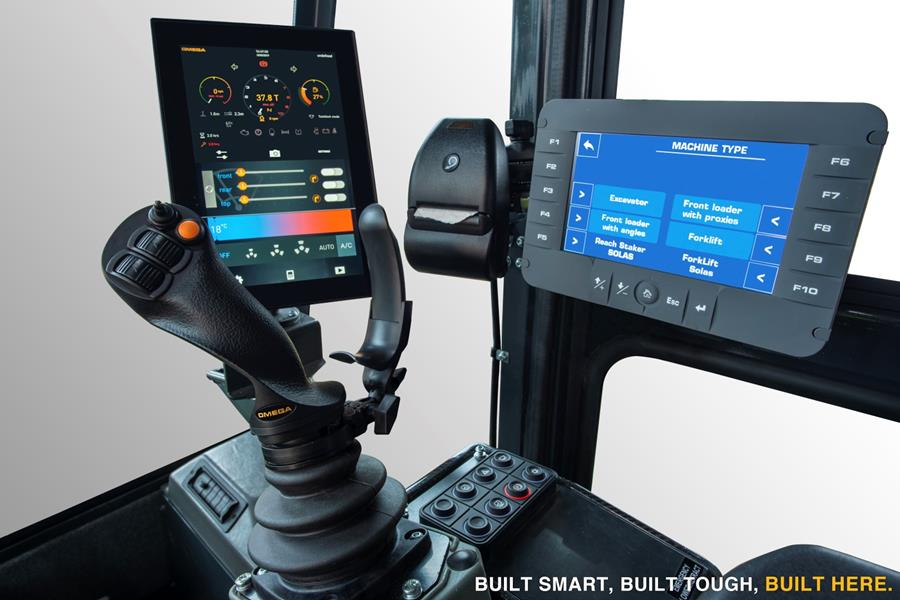 OMEGA NEW Industry Leading Driver Interface