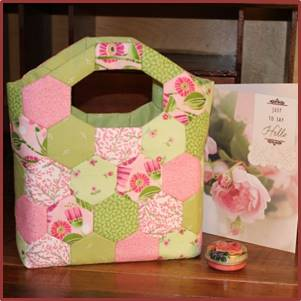 Little Lucy Bag Pink Summer kit from Ashmead Designs