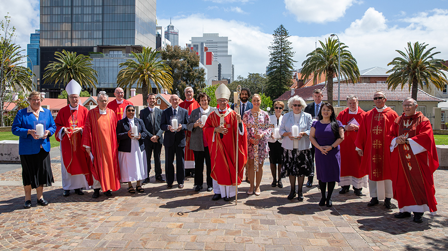 Archbishop Costelloe with Plenary Council Members