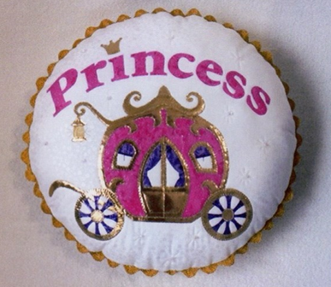 Princess Carriage pattern designed by Gail Penberthy