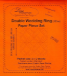 Double Wedding Ring - 4 block set - English Paper Piecing pattern by Lina Patchwork