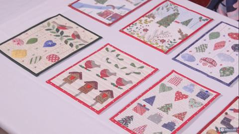 Christmas Miniature Quilts with Julia Gahagan