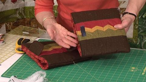 Ipad cover with Seminole Patchwork with Jennie Rayment