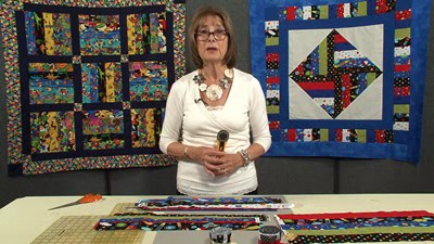 Quick-Strip Children's Quilt with Valerie Nesbitt