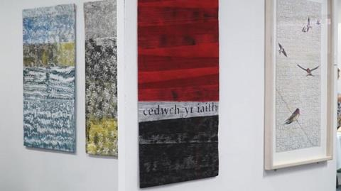 Cwilt Cymru exhibition with Judy Fairless