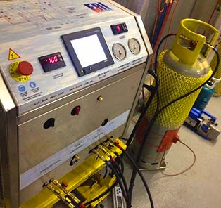 Fri3Oil Refrigerant Recovery Machine
