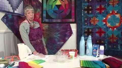 Dyeing in a Plastic Bag with Helen Deighan - Part 1