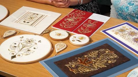 Contemporary Goldwork with Kathleen Laurel Sage