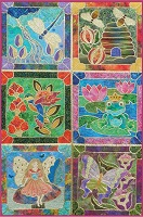 Enchanted Garden Complete Set by Gail Lawther