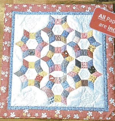 Trixi Baby Quilt pattern from Lina Patchwork