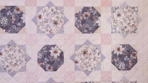 Dream quilt from Makower with Valerie Nesbitt