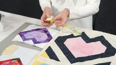 Create simple hearts with Valerie Nesbitt
