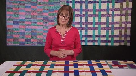 Woven Jelly roll Colourwheel with Valerie Nesbitt
