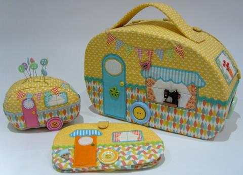 Travelling Sewing Set pattern designed by Gail Penberthy