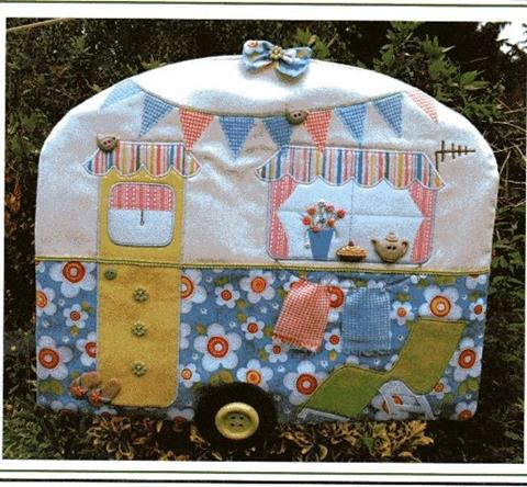 Laundry Van Peg bag pattern designed by Gail Penberthy