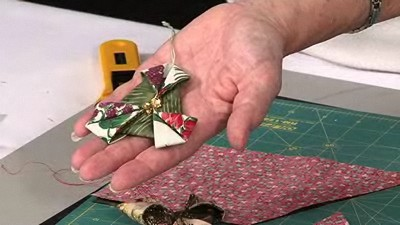 Folded Christmas Tree Decoration with Valerie Nesbitt
