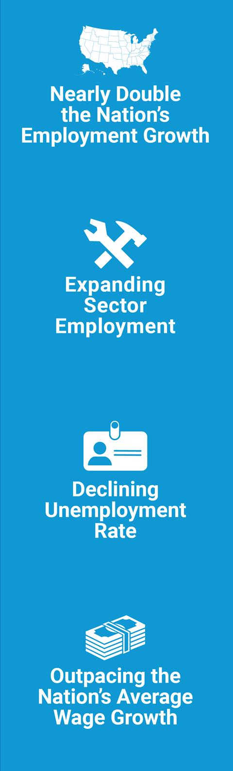 Employment Review infographics