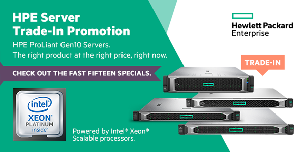 Leading-edge offers with HPE Trade in Program