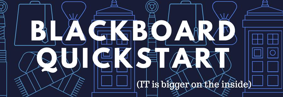 Register for the CFC Blackboard Quickstart Session