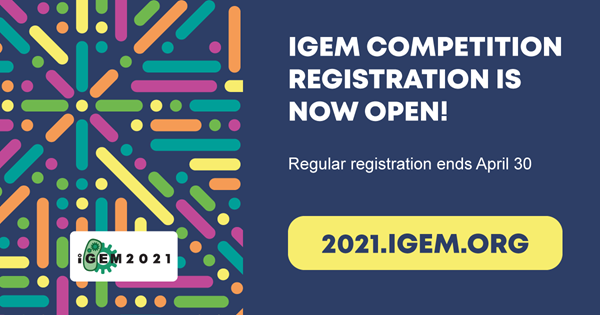 iGEM Competition Registration is Now Open!